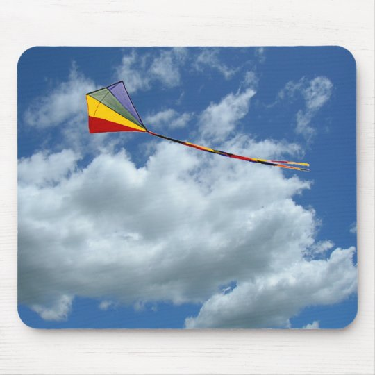 Mousepad - Kite in the clouds