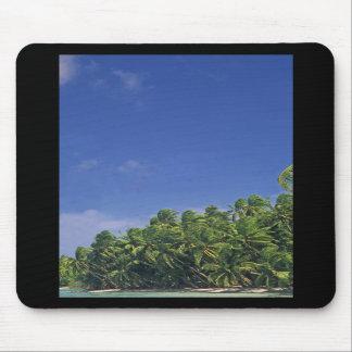 Mousepad, la orilla del atolón de Pukapuka Alfombrillas De Raton