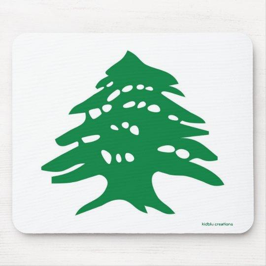 mousepad - Lebanese cedar