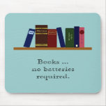 Mousepad - libros… ningunas baterías requeridas tapetes de ratón