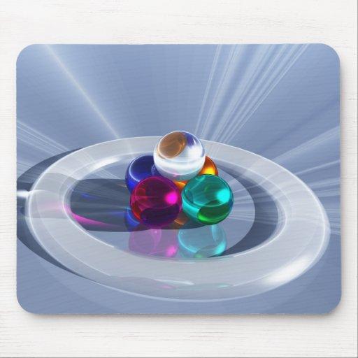 Mousepad ligero de doblez alfombrillas de ratón