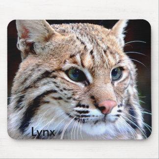 Mousepad, Lynx Up Close Mouse Pad