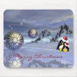 mousepad mágico del navidad de la fantasía con los tapetes de ratón