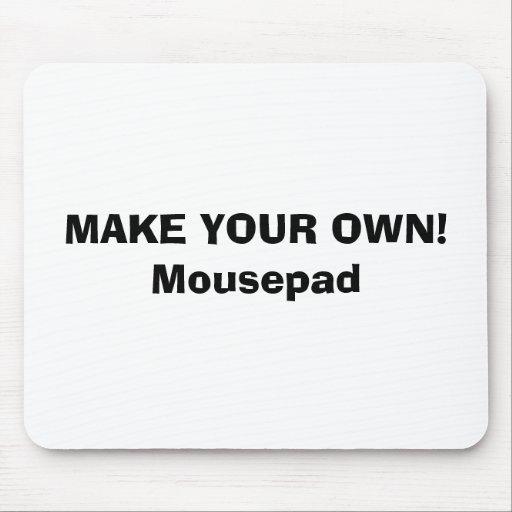 mousepad make your own zazzle. Black Bedroom Furniture Sets. Home Design Ideas