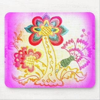 mousepad maravilloso de la palmera del rosa del alfombrillas de raton