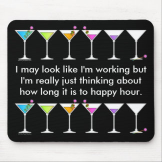 Mousepad - Martinis Going, Going, GONE