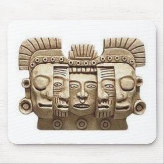 Mousepad: Máscara azteca Tapete De Raton