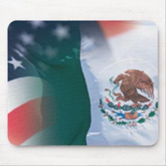 Mousepad mexicano-americano
