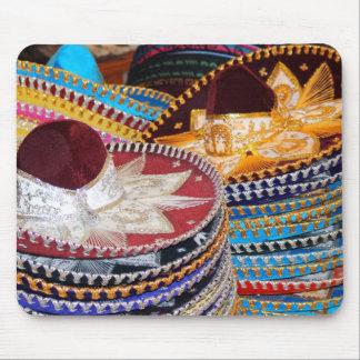 mousepad mexicano de los sombreros