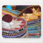 mousepad mexicano de los sombreros tapete de ratones
