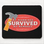 Mousepad - mi boda sobrevivió mi remodela alfombrilla de ratón