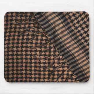 Mousepad: Military Shemagh Pattern Fabric Mouse Pad