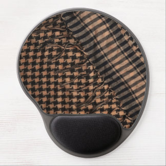 Mousepad: Military Shemagh Pattern Fabric Gel Mouse Pad