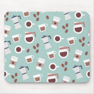 Mousepad mínimo de los granos de café