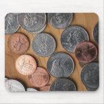 Mousepad - monedas tapete de raton