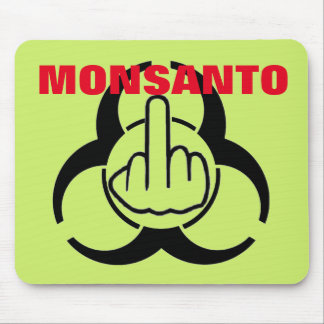 Mousepad Monsanto Bio Hazard Flip