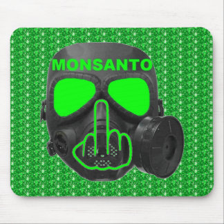 Mousepad Monsanto Gas Mask Flip