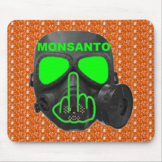 Mousepad Monsanto Gas Mask Flip Mouse Pad