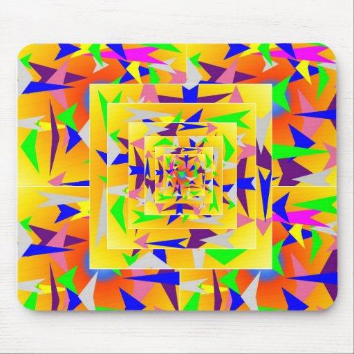 Mousepad  MP4  Colorful triangles