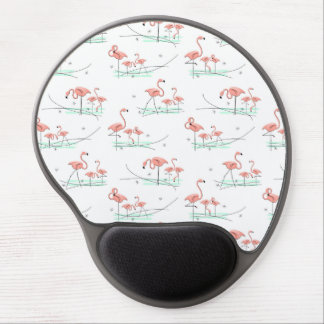 Mousepad multi del gel de los flamencos alfombrilla con gel