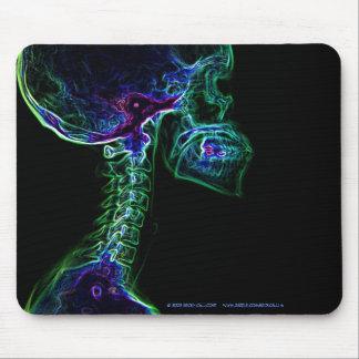 Mousepad multicolor de la radiografía de la C-espi Alfombrillas De Ratón