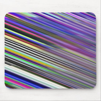 Mousepad - Multicoloured Diagonal stripes