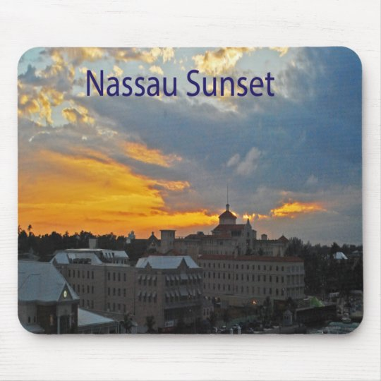 Mousepad  Nassau sunset