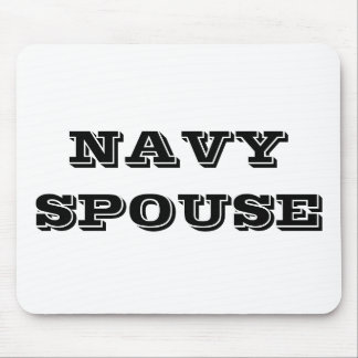 Mousepad Navy Spouse