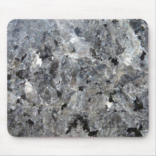 Mousepad negro del granito de la belleza tapete de ratones