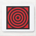 Mousepad negro rojo de O Alfombrillas De Raton