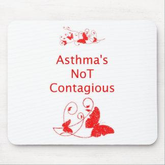 Mousepad no contagioso del asma tapetes de raton