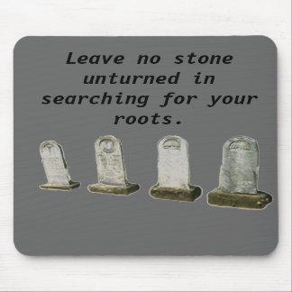 Mousepad - no deje ninguna piedra unturned en… alfombrillas de raton
