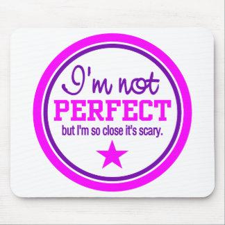Mousepad NO PERFECTO - rosa/púrpura