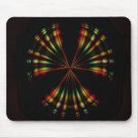 Mousepad nuclear del arco iris tapetes de raton