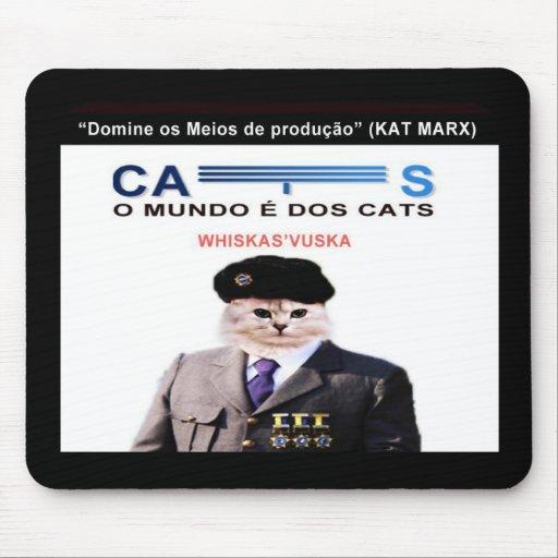 MousePad O MUNDO É DOS CATS