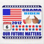 Mousepad - ObamaBiden 2012 - Our Future Matters