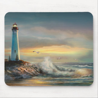 Mousepad of Crisp Point Lighthouse