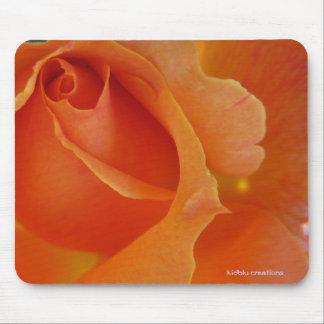 mousepad - orange rose