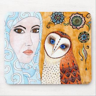 Mousepad owl Owl kind Suri