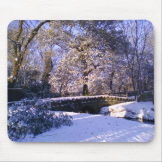 Mousepad: País de las maravillas del invierno Alfombrilla De Ratones