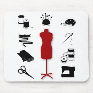 Mousepad para los artistas de costura de la tela alfombrillas de ratón