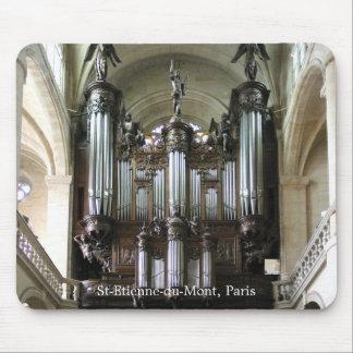Mousepad parisiense del órgano