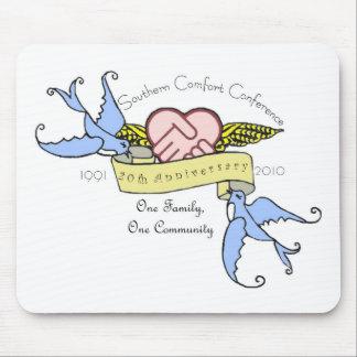 Mousepad - pastel del diseño del aniversario del S Alfombrillas De Raton