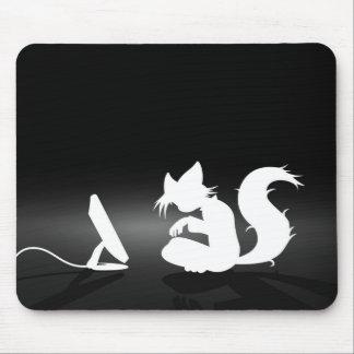 Mousepad peludo tapetes de ratón