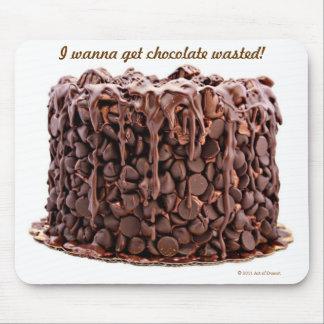 Mousepad perdido chocolate de la torta alfombrilla de ratones