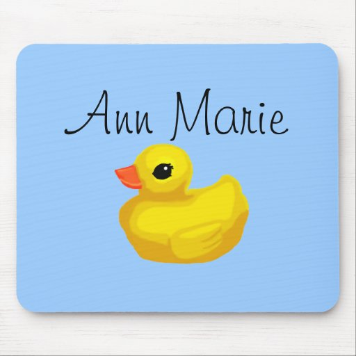 Mousepad personalizado Ducky de goma Alfombrilla De Raton