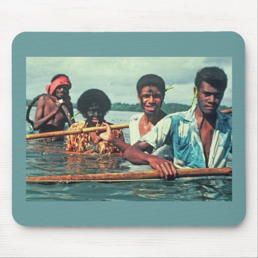 Mousepad, pesca neta, Naivuruvuru, Fiji Alfombrilla De Ratones