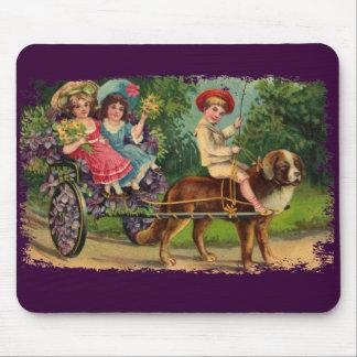 Mousepad pintado desfile de los niños del Victoria