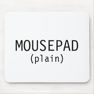 MOUSEPAD (plain)