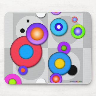 MOUSEPAD - Pop Art Inspired CIRCLES
